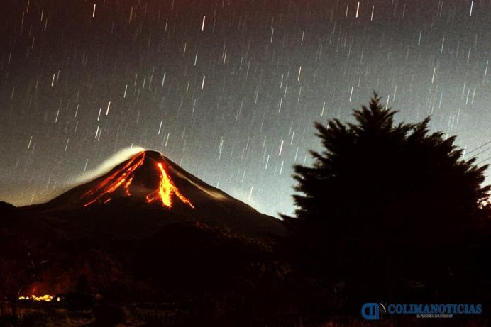 Volcan de fuego de Colima cultura