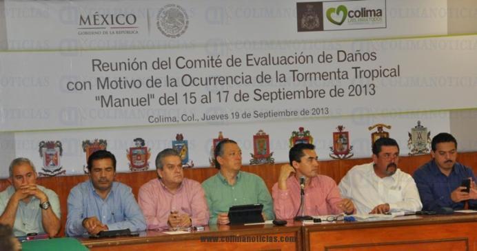 subcomités evaluación Estado daños Manuel