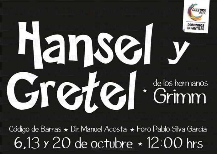 Obra de Teatro Hansel y Gretel