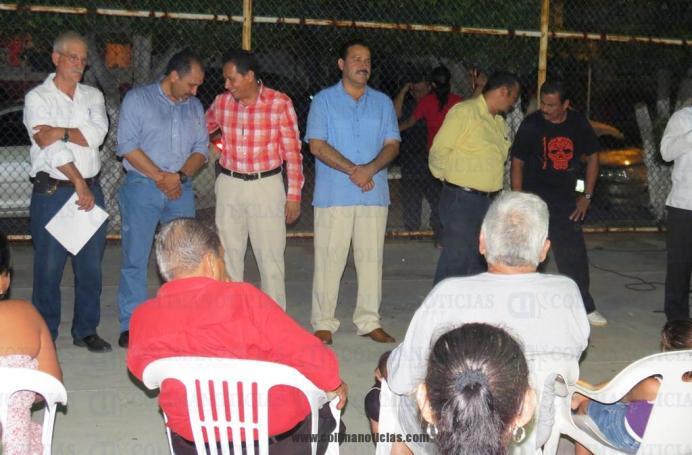 obras en la colonia Las palmas en Tecoman (1)