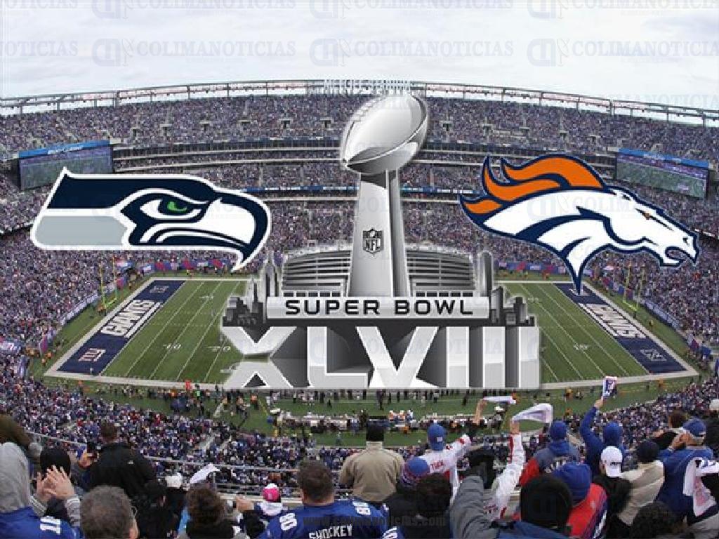 Asi Se Jugara El Super Bowl Xlviii