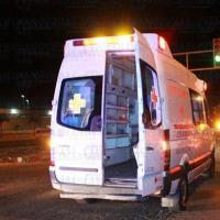 Reportan a conductor de auto baleado rumbo a Puerta de Anzar
