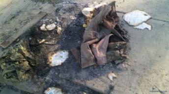 boletas falsas quemadas