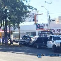 Se registra fuerte accidente sobre la Av. Felipe Sevilla del Río