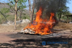 Incinera PGR Colima más de 450 kilos de cocaína3