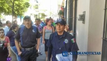 Policías en la CEDH2