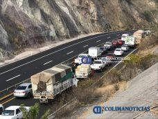 autopista Colima–Manzanillo trafico