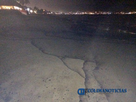 contaminación de chapopote en playa