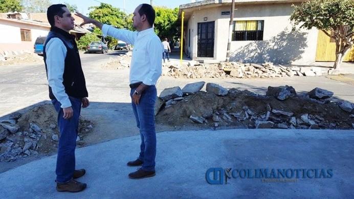 Gestiona diputado Tintos Trujillo rampas y pasacalles en Cuauhtémoc