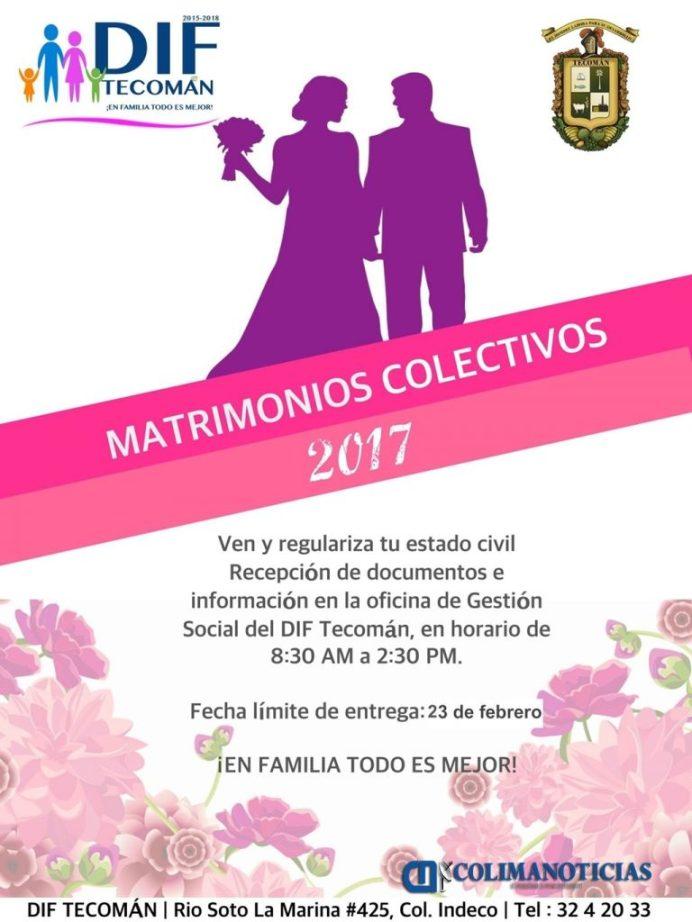 MATRIMINIOS COLECTIVOS