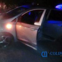 Sujetos armados se enfrentan a balazos con policías estatales en Tecomán