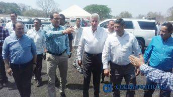 SCT inaugura libramiento Comala y ampliación de autopista 4