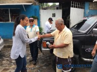 Gabriela Benavides recorre colonias afectadas por las lluvias4