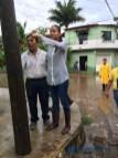 Gabriela Benavides recorre colonias afectadas por las lluvias5