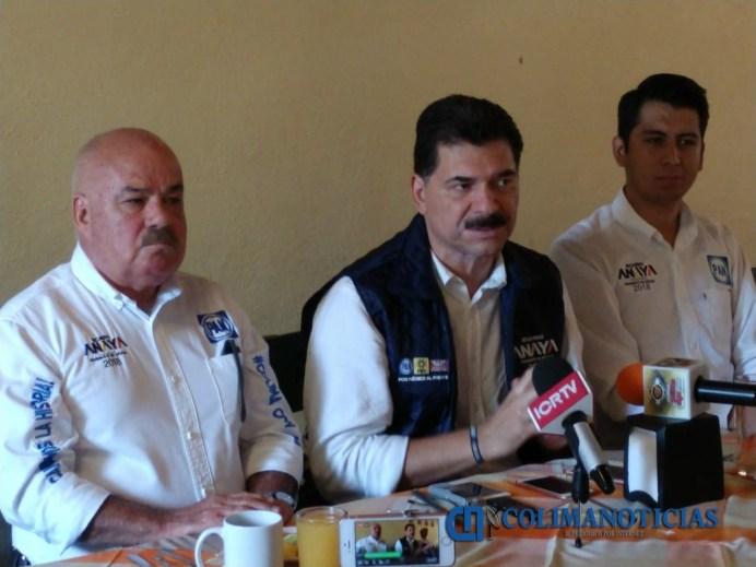 Gerardo Priego pan rueda de prensa