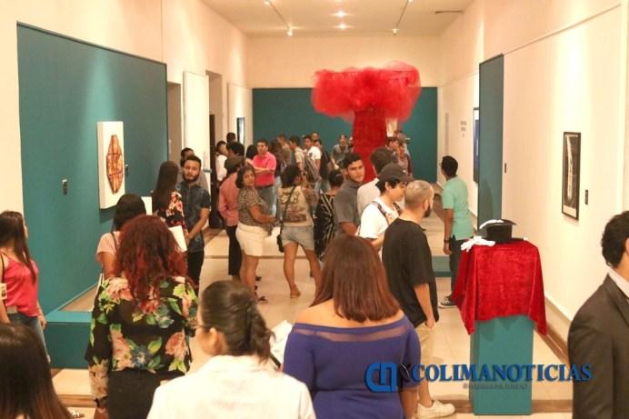 Inauguran Expo Artes Visuales en Proceso_a