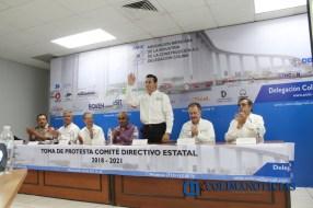 Toma de protesta de AMIC Colima3