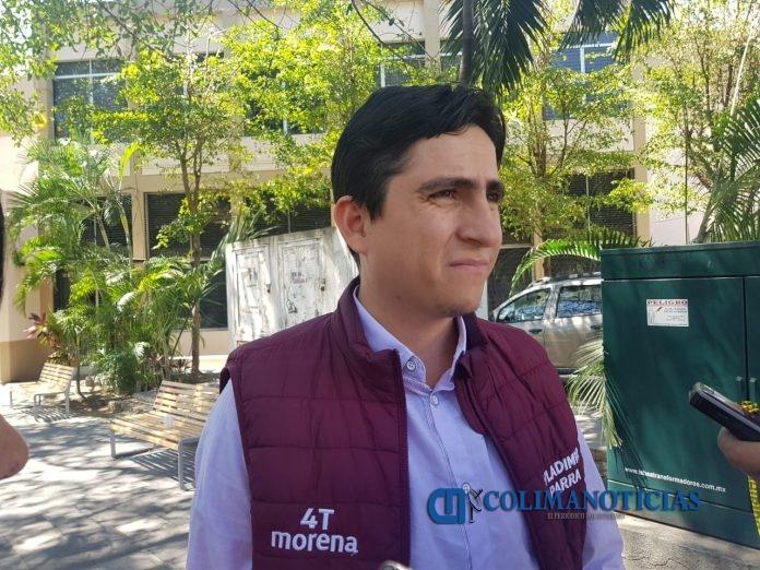 Vladimir Parra 696x522 - Morena solicita a Gobernación protocolo para resguardar integridad de alcaldesa de Manzanillo