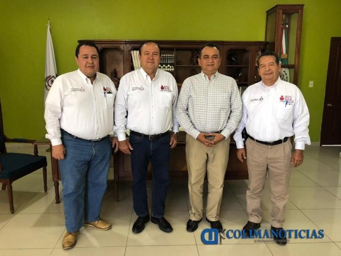 Coordinarán acciones de alfabetización Felipe Cruz y Directivos del INEA