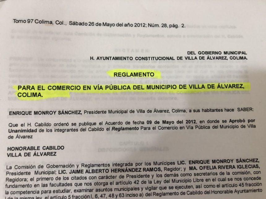 Evangelina Villaseñor documento 3 1024x768 - Felipe Cruz quiso pacificar situación de tianguistas: Directora de Licencias