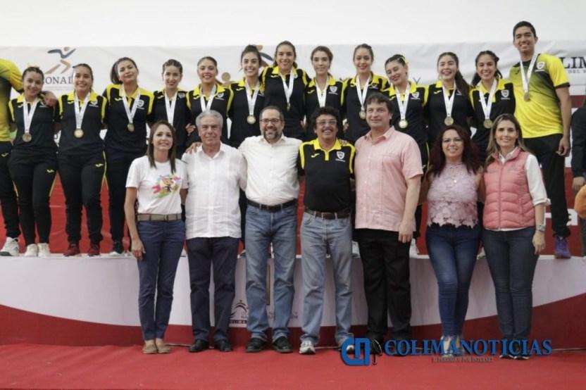 JIPS Olimpiada Nacional Handball 6 1024x682 - Preside JIPS premiación de Handball de la Olimpiada Nacional y Nacional Juvenil 2019