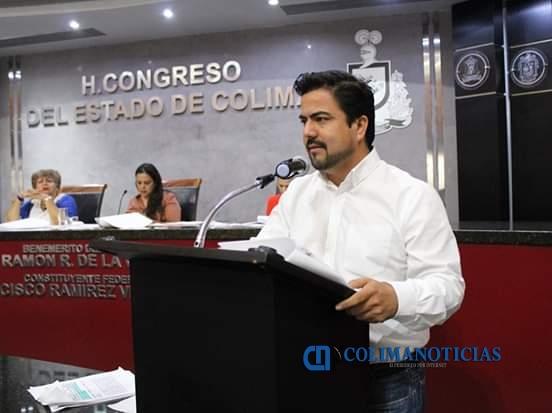 julio anguiano diputado local - Aprueba Congreso descuentos de predial y licencias para Tecomán