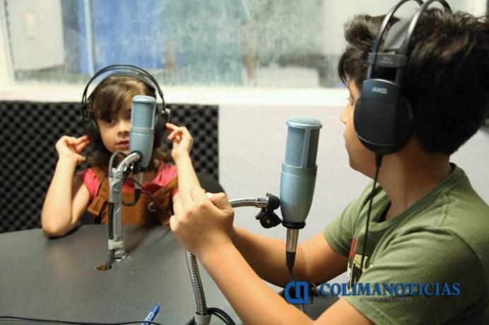 Anuncian Taller de verano en el Estudio Interactivo de Radio y Televisión