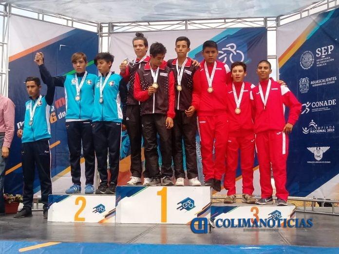 Colimenses obtienen medalla de oro por equipos del ciclismo de ruta en Olimpiada Nacional 696x522 - Colimenses obtienen medalla de oro por equipos del ciclismo de ruta en Olimpiada Nacional