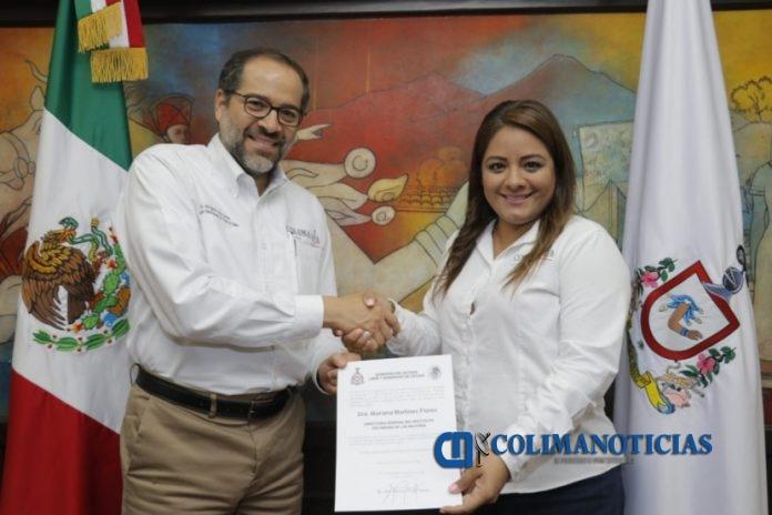 JIPS nombriento Mariana ICM 2 696x464 - Ratifica Gobernador a Mariana Martínez en el Instituto Colimense de las Mujeres