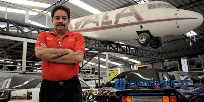 Martin Vaca 696x348 - Anuncian Sejuv y Canaco conferencia de Martín Vaca, restaurador de autos
