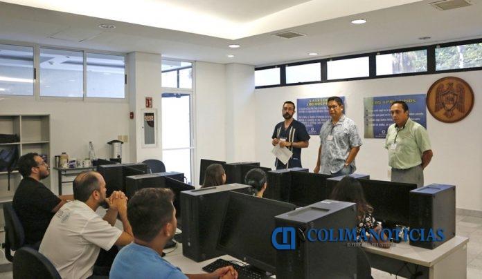 Nemer Narchi Aramis Olivos y Omar Cervantes Laboratorio de Oceanología 696x404 - UdeC, sede de la segunda reunión del laboratorio de Oceanografía Social