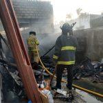 incendio casa bomberos 150x150 - Incendio en casa habitación del Barrio 5