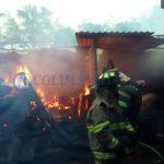 incendio en madereria la villa 150x150 - Reportan incendio en una maderería en Villa de Álvarez