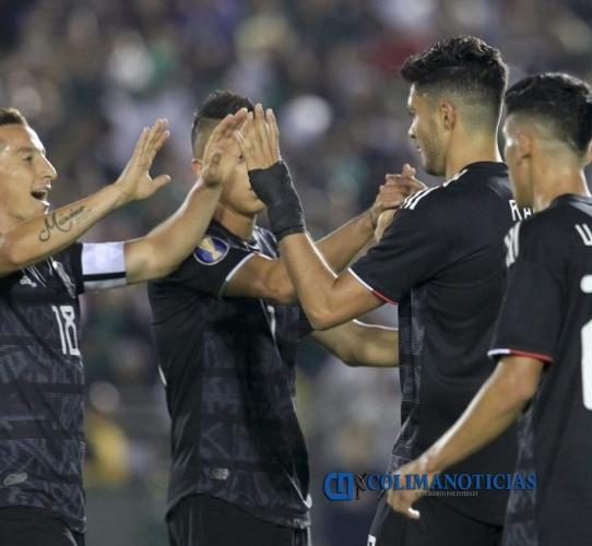 mexico fútbol - México golea 7-0 a Cuba en Copa Oro 2019