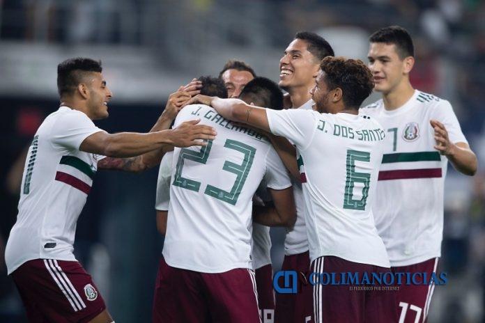 selección mexicana futbol 696x464 - México gana 3-2 a Ecuador