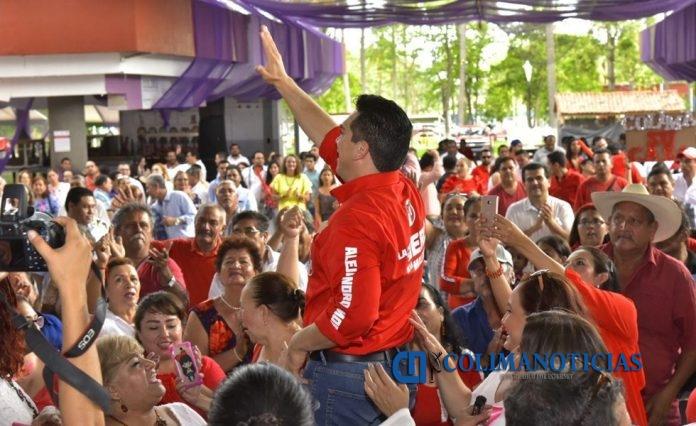 Alito Moreno PRI 696x426 - ´Alito´ Moreno Cárdenas se reúne con la militancia priista de Colima