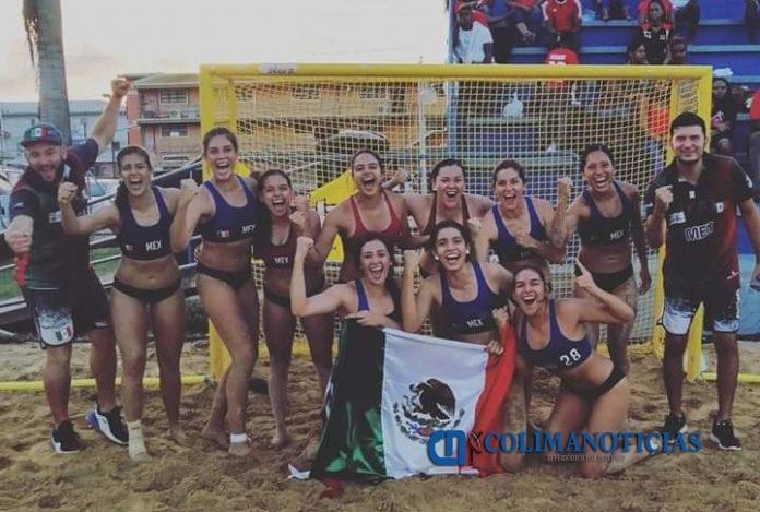 Incode 31 696x469 - Clasifica México al Mundial de Handball de Playa en Italia 2020