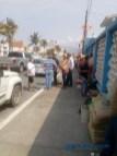 Se manifiestan vecinos y detienen obra en el boulevard costero de Manzanillo 9