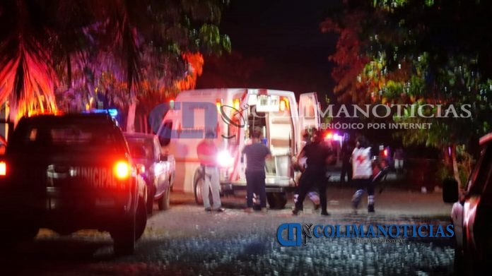 baleados 04 jul 696x391 - Ejecutan a un hombre y hieren a una mujer a balazos en Armería