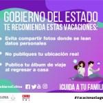 banner gob edo VACACIONES julio