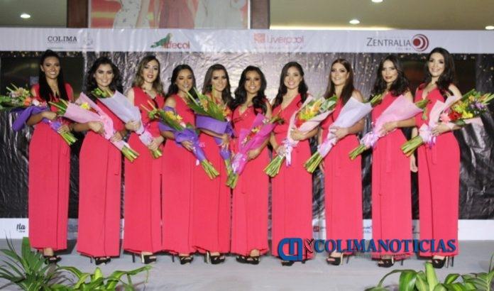 candidatas Iffecol 696x410 - Presentan a las 10 aspirantes a reina de la Feria de Todos los Santos, Colima 2019