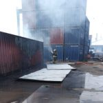 contenedor incendio 150x150 - Central de Emergencias controla incendio de contenedor