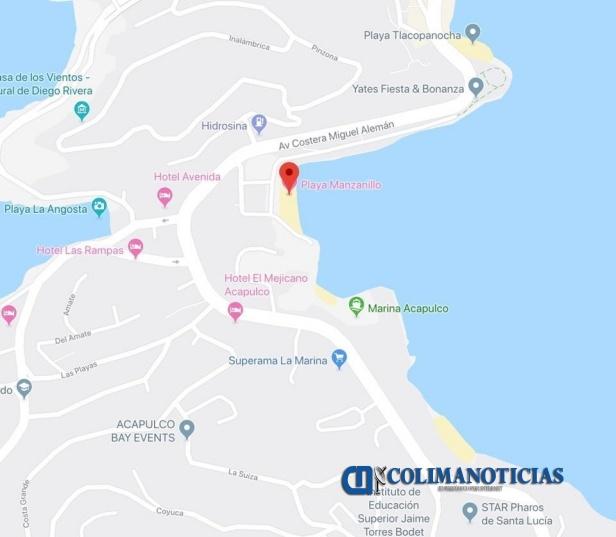 playa Manzanillo en Acapulco
