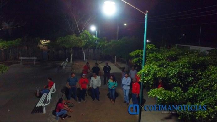 supervisa alcalde armeria nuevas luminarias