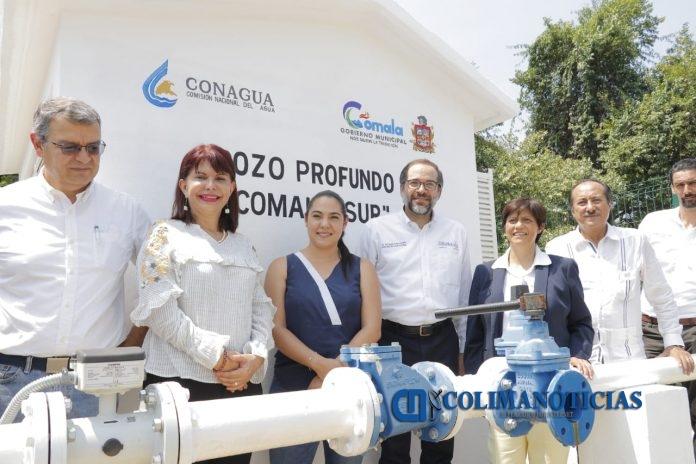 Entrega Gobernador pozo profundo de agua potable en Comala 696x464 - Entrega Gobernador pozo profundo de agua potable en Comala