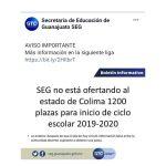 Secretaria de Educación de Guanajuato desmiente que oferte mil 200 plazas a Colima 150x150 - Secretaría de Educación de Guanajuato se echa para atrás para ofertar mil 200 plazas a Colima