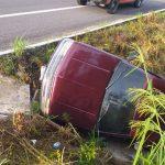 accidente camioneta en carretera 150x150 - Localizan camioneta abandonada y siniestrada en la carretera a Cihuatlán