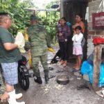 evacúan por lluvia 150x150 - Evacuan a personas de Cerro de Ortega