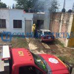 incendio de auto 150x150 - Reportan incendio de un vehículo en colonia Villas Alameda de Villa de Álvarez