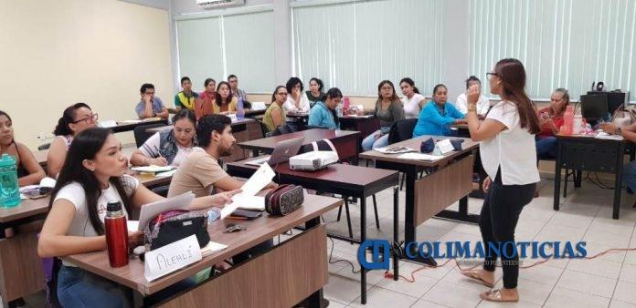 30 docentes de la Sección 6 del SNTE reciben curso taller de Lengua de Señas Mexicanas 696x338 - 30 docentes de la Sección 6 del SNTE reciben curso-taller de Lengua de Señas Mexicanas